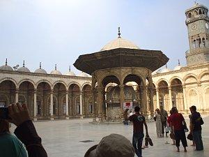 ガーマ・ムハンマド・アリの中庭