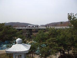 臨津閣、自由の橋
