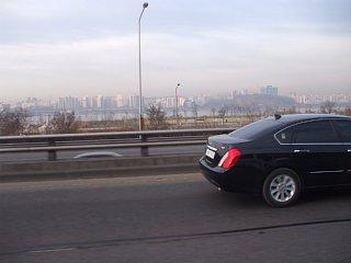 仁川に向かう高速道路から見えた漢江