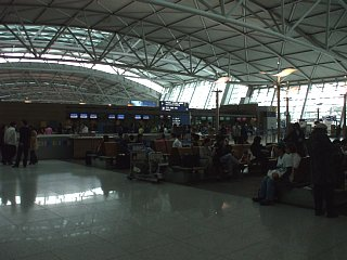 仁川国際空港、出発ロビー