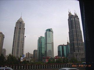 上海のビル街