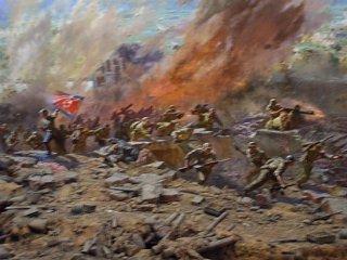 祖国解放戦争勝利記念館、大パノラマ館