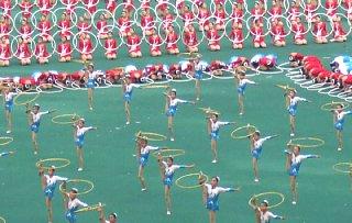 建国60周年記念マスゲーム「繁栄あれ祖国よ」