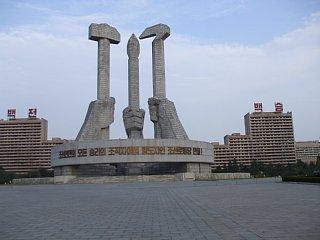 朝鮮労働党創立記念塔