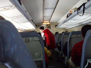 高麗航空の機内
