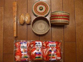 北朝鮮土産の雑貨、民芸品