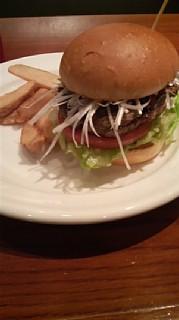 神楽坂バーガー味噌
