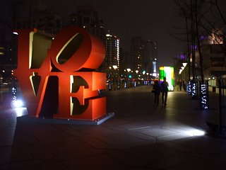 ロバート・インディアナ'LOVE' in TAIPEI