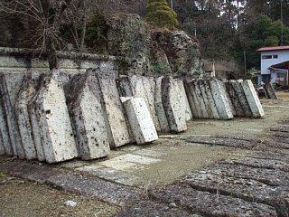 大谷石の石材