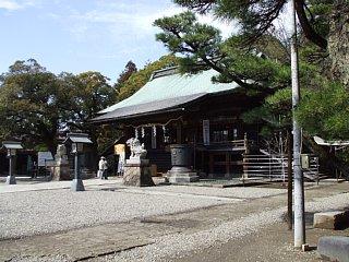 二荒山神社。拝殿