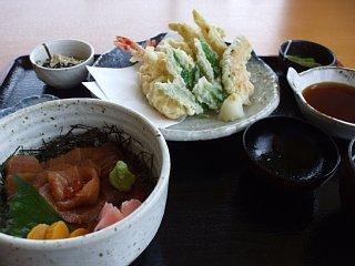 ふるさと味覚館の味覚館定食