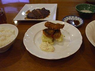 ホテル海楽の夕食