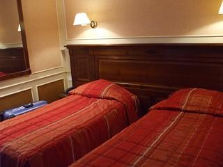 ホテル・トゥーリンのツインルーム