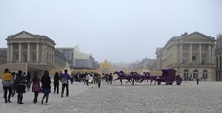 ヴェルサイユ宮殿、正面広場