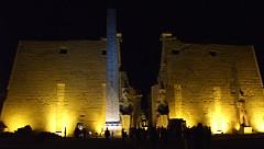 元々コンコルド広場のオベリスクがあったルクソール神殿