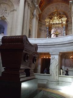 アンヴァリッド、ドーム教会、ナポレオンの棺