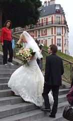 サクレ・クール聖堂の結婚式