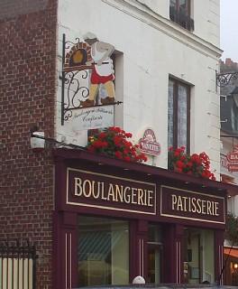 ラ・ブイユで立ち寄ったブランジェリー
