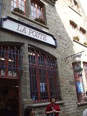 モン・サン・ミッシェル唯一の郵便局