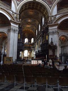 セント・ポール大聖堂の内部