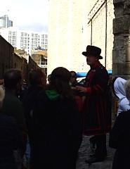 ロンドン塔のビーフィーター