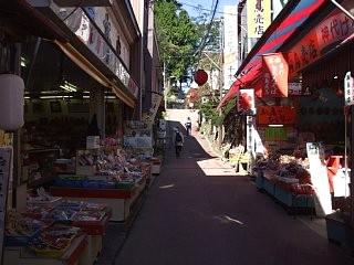 武蔵御嶽神社の参道