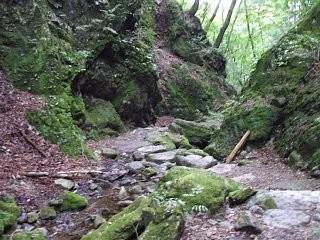 御岳山岩石園