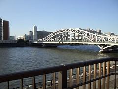 白髭橋と隅田川
