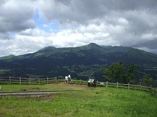 俵山峠の展望所