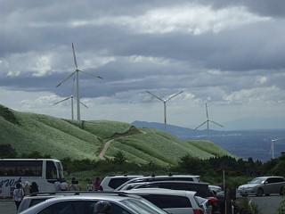 俵山周辺の風車