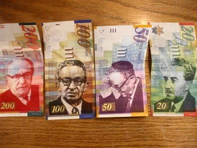 新シェケル紙幣