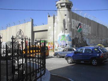 パレスチナ自治区の分断壁