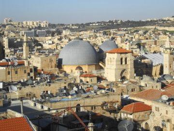 ダビデの塔の展望台から聖墳墓教会