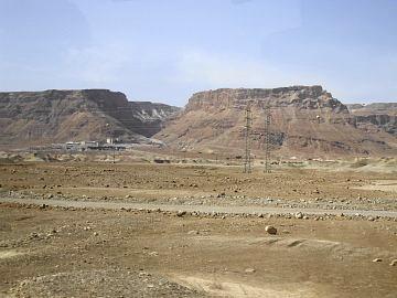 マサダの岩山