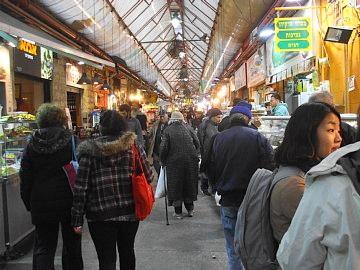 マハネー・イェフダー市場